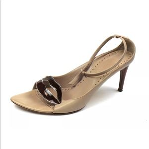 Yves Saint Laurent YSL Bernice 100 Almond Pumps
